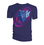 T-shirt Doctor Who da uomo - Design: Comic Tardis Bigger on the Inside