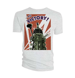 T-shirt Doctor Who da uomo - Design: Dalek to Victory