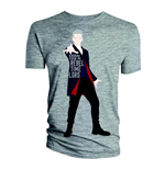 T-shirt Doctor Who da uomo - Design: 12th Doctor 100% Rebel Time Lord