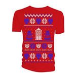T-shirt Doctor Who da donna - Design: Ugly Xmas Sweater