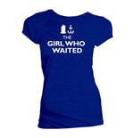 T-shirt Doctor Who da donna - Design: The Girl Who Wanted