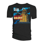 T-shirt Doctor Who da uomo - Design: Return of the Daleks