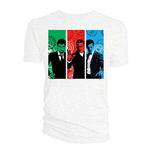 T-shirt Doctor Who da donna - Design: Red, Green, Blue Doctors
