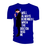 T-shirt Doctor Who da uomo - Design: I Will Always Remember When The Doctor Was Me