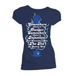 T-shirt Doctor Who da donna - Design: The Tea is Getting Cold