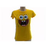 T Shirt Spongebob Smile Lady