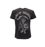 T Shirt Sons of Anarchy Teschio