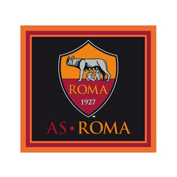 Bandiera Ufficiale As Roma Quadrata