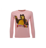 T Shirt M/L Interlock Masha e Orso