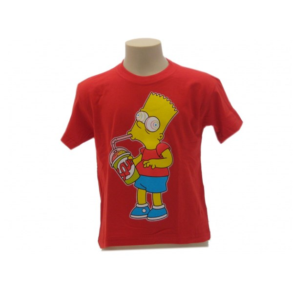 T Shirt Simpsons Bart Slurp