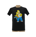T Shirt Simpsons Homer & Bart strozzo