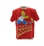 T Shirt Simpsons Homer & Bart Grrrr