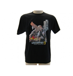 T Shirt Sony Playstation Uncharted Drake aereo