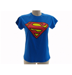 T shirt Superman Logo Lady