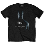 T-shirt Tupac da uomo - Design: Changes