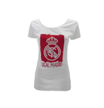 T-shirt lady Ufficiale Real Madrid C.F RM1CW7