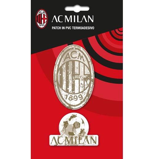 Milan patch in PVC termo-adesivo Logo Vintage