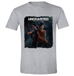 Uncharted - The Lost Legacy Cover - Heather Grey (T-SHIRT Unisex )