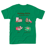 PUSHEEN: Holiday Gifts (T-SHIRT Unisex )