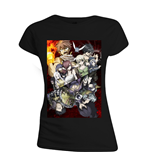 Fairy TAIL: Lucy Heartfillia Black (T-SHIRT Donna )