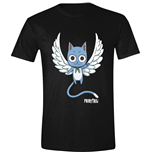 Fairy TAIL: Happy Angel Black (T-SHIRT Unisex )
