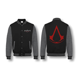 ASSASSIN'S CREED: Red Logo BLACK/ANTHRACITE Melange (giacca College )