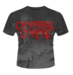 "T-shirt Cannibal Corpse ""A Skeletal Domain"" (TUTTA STAMPATA)"