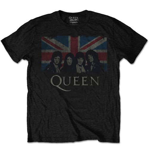 T-shirt Queen da uomo - Design: Vintage Union Jack