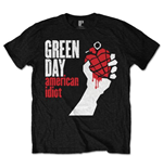 T-shirt Green Day da uomo - Design: American Idiot