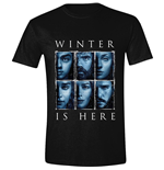 Game Of THRONES: Winter Is Here Black (T-SHIRT Unisex )