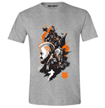 Call Of Duty Black Ops 4: Characters Montage Heather Grey (T-SHIRT Unisex )
