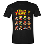 Street Fighter Ii - Characters Black (T-SHIRT Unisex )