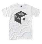 T-shirt Mute Records CUBE LOGO