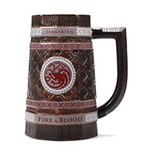Game Of Thrones: Targaryen Stein Embossed (Boccale)