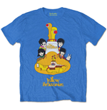T-shirt The Beatles unisex - Design: Yellow Submarine Sub Sub