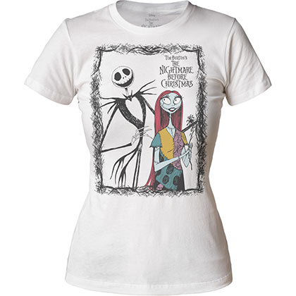 T-shirt Nightmare before Christmas da donna