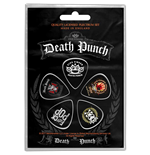 Plettro Five Finger Death Punch - Design: Logos