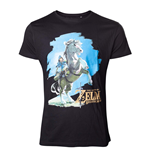 NINTENDO: Legend Of Zelda (THE) - Breath Of The WILD: Link On Chest (T-SHIRT Unisex )