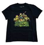Teenage Mutant Ninja Turtles: Blue Mutants Rule! (T-Shirt Bambino Tg. )