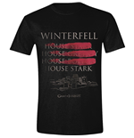 Game Of THRONES: Winterfell Full Circle Black (T-SHIRT Unisex )
