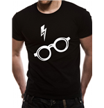T-shirt Harry Potter - Design: Glasses