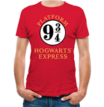 T-shirt Harry Potter - Design: 9 And 3 Quarters