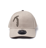 Tomb Raider: Axe Curved Bill Adjustable Beige (Cappellino)