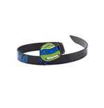 Teenage Mutant Ninja TURTLES: Leo Blue Buckle With Black Belt (cintura )