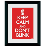 Doctor Who: Keep Calm & Don't Blink (Stampa In Cornice 30x40cm)