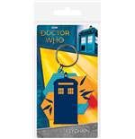 Doctor Who (Tardis Shapes) Keychain