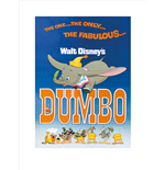 Dumbo - The Fabulous (Poster 80X60 Cm)