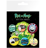 Rick & Morty - Mix 1 (Badge Pack)