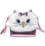 Disney: Marie Shoulder With Furry Flap Pink (Borsetta)