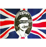 Poster Sex Pistols - Design: God Save The Queen